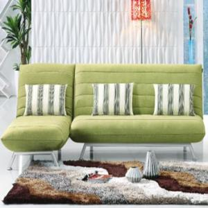 Sofa Sleeper with L Shape Fabric Cover