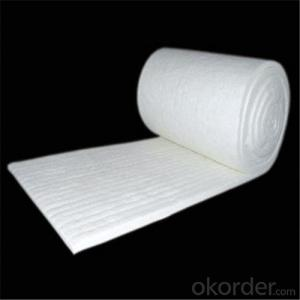 1260 High Pure Ceramic Fiber Blanket in 128kg/m3 Bulk Density