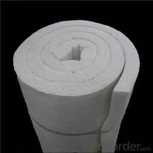 1260 Ceramic Fiber Blanket with Two Sides Needled for Furnace Backup Insulation