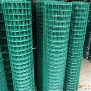 PVC Coated Wire Mesh Black /Yellow/ Green Widely Use with High Quality