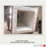 Módulo distribuidor de fibra cerámica y manta, tejido y textiles de fibra cerámica