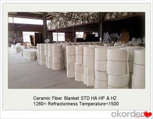 Ceramic Fiber Blanket STD or High Alumina Fireproof Insulation Blown Process