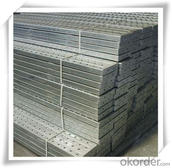 Buy Hot Dip Galvanized Steel Plank Metal Planks 210 45 1 5