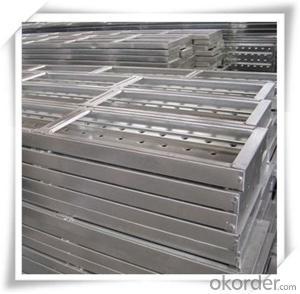 Hot Dip Galvanized Steel Plank Metal Planks 210*45*1.2*2000 CNBM