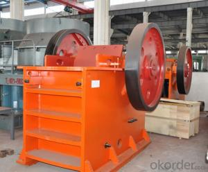 Jaw Crusher for Construction Material with Firm Structure for Welding