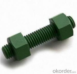 Uns Nickel Alloy Stud Bolt  with JIS and GB Grade