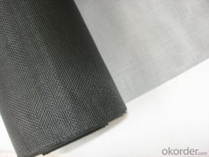 Fiberglass Insect Screen Mesh with 14*16 in Black