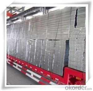 Hot Dip Galvanized Steel Plank Metal Planks 225*38*1.5*1000/2000/3000/4000mm CNBM