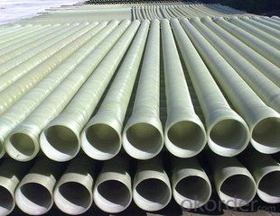 GRP FRP pipes sea water pipe series DN 50