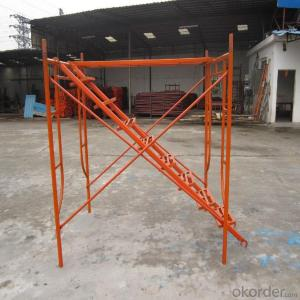 Asian Series Frame Scaffolding with Steel Q235 Q345 CNBM