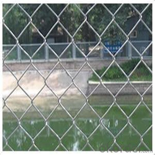 Chainlink Wire Mesh Building Fence Factory Direct Price Good Quality