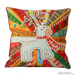 Wholesale Pillow Cushion Case with 2015 New Design for Christmas Decorative