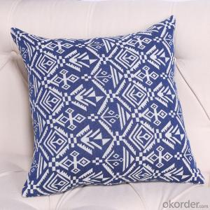 Handmade Pillow Cushion with New Style Printing for Decoration