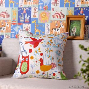 Hot Sale Pillow Cushion Cover with Digital Printed for Decoration