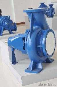 DIN Standard Horizontal End Suction Water Pump