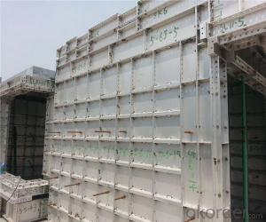 Aluminum Formwork for Circular Column and Corner