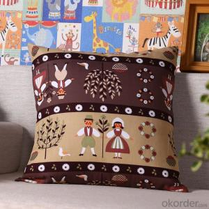 Wholesale Pillow Cushion Case with Digital Printed for Decoration