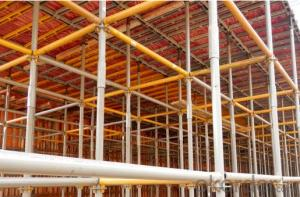 Layher Speedy Scaffolding System for easy set up CNBM