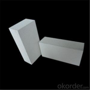 Ladrillos Blancos Refractarios Fundidos en Alúmina