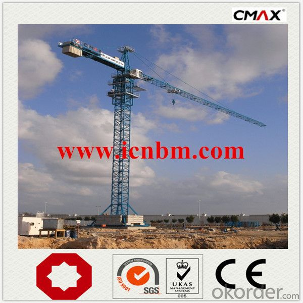 CMAX Tower Crane Building Material Supplier