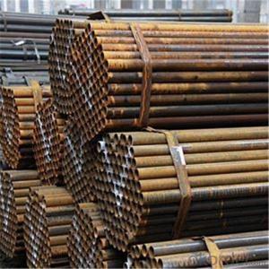 Black Scaffolding Tube 48.3*1.8 Q235 Steel Standard EN39/BS1139 for Sale CNBM