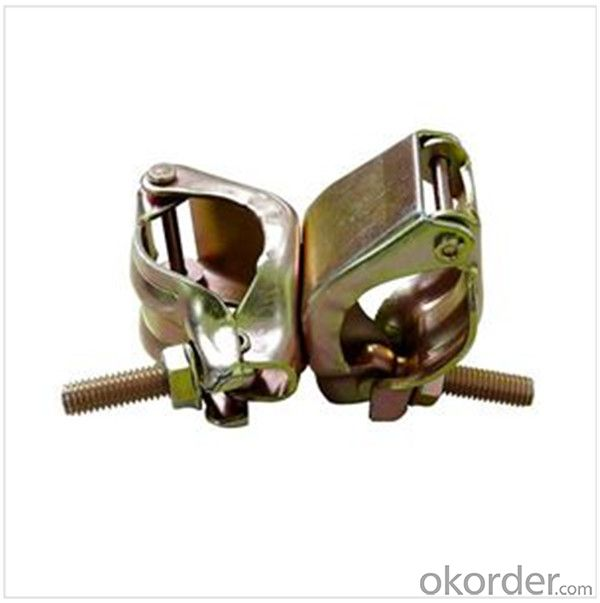 110º Pressed Double Coupler  for Scaffolding Q235 Q345 CNBM