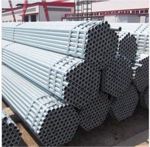Hot Dip Galvanized Scaffolding Tube 42.3*4.0 Q235B Steel Standard EN39/BS1139 for Sale CNBM