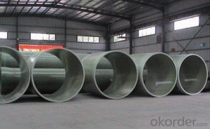 GRP FRP Pipes Sea Water Pipe Series DN 350