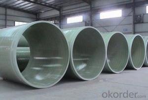 GRP FRP Pipes Sea Water Pipe Series DN 2200-4000