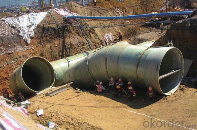 Buy GRP FRP Equal Tees Sea Water Pipe Series DN 1400-2400