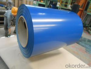 Color Coated Galvanized Steel PPGI Coil Prime Quality Blue Color