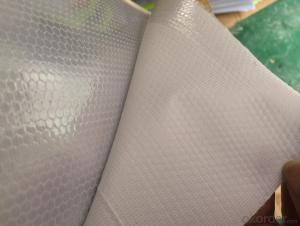 PVC Honeycomb Reflective Films with Fabric for Safty
