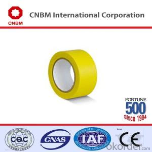 PVC Floor Marking Tape with Adhesive Natural Rubber