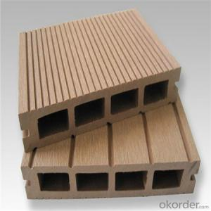 Wood Plastic Decking made in China with CE passed