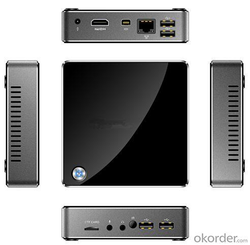 intel Mini Box  Z3735F 2GB DDR3 32GB eMMC HDMI WiFi Bluetooth Genuine Windows 8.1 Mini PC