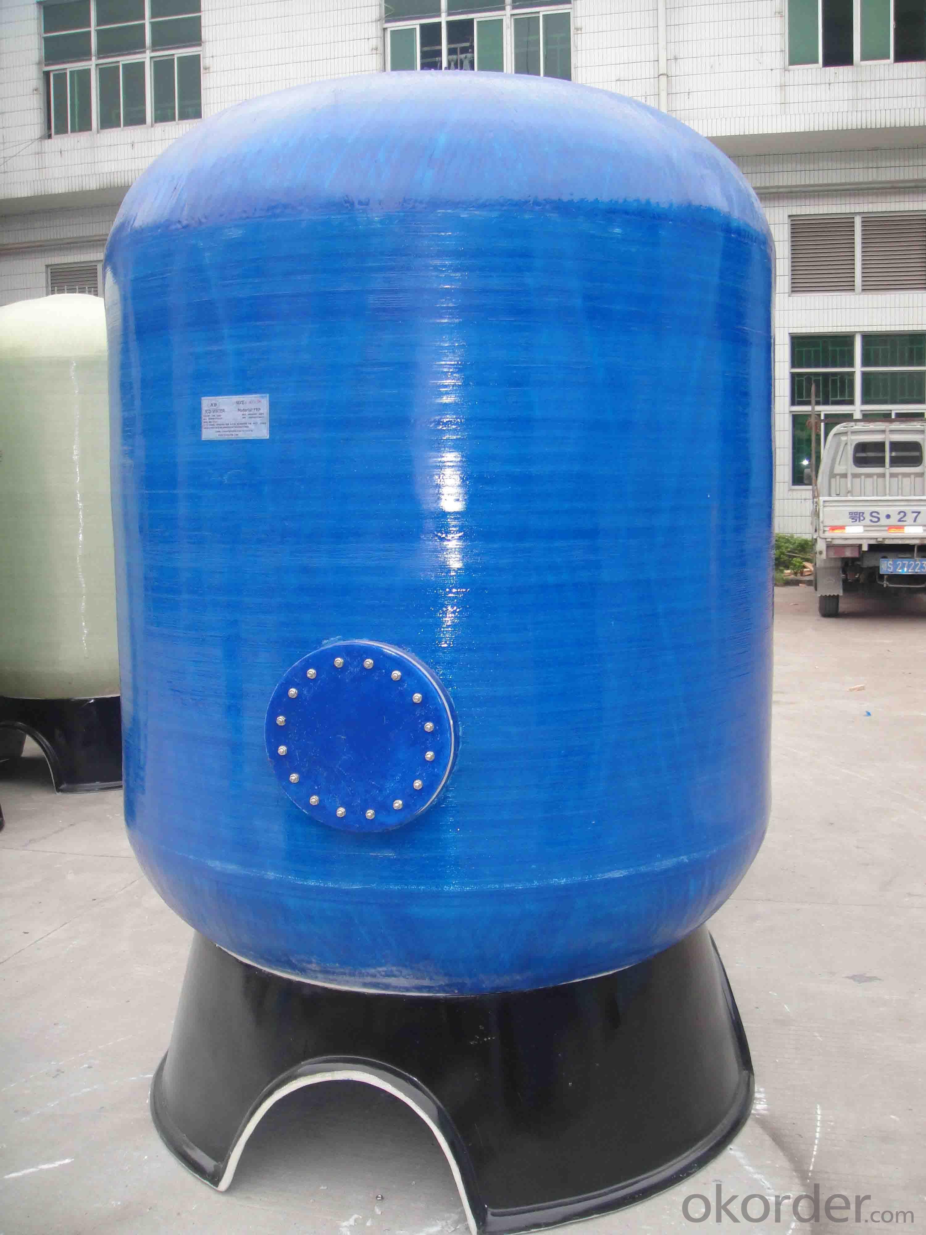 Fiberglass Water Storage Tanks