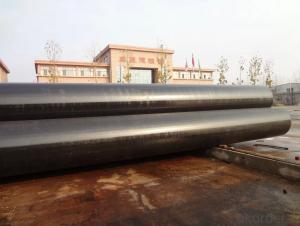 Construction of large diameter LSAW pipe
