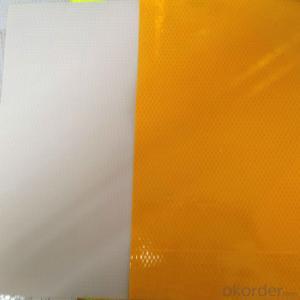 PVC Honeycomb Reflective Vinyl Roll Truck Light Reflective Tape with Honeycomb