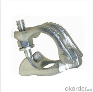 Drop Forged Half Coupler   for Scaffolding Q235 for Sale CNBM
