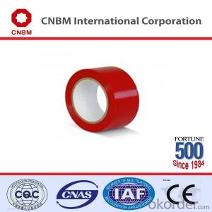 PVC Floor Marking Tape PVC Natural Rubber Tape for Marking