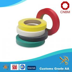Double Sided Tape with Tissue Red Yellow Blue Black Colour Water Based Acrylic
