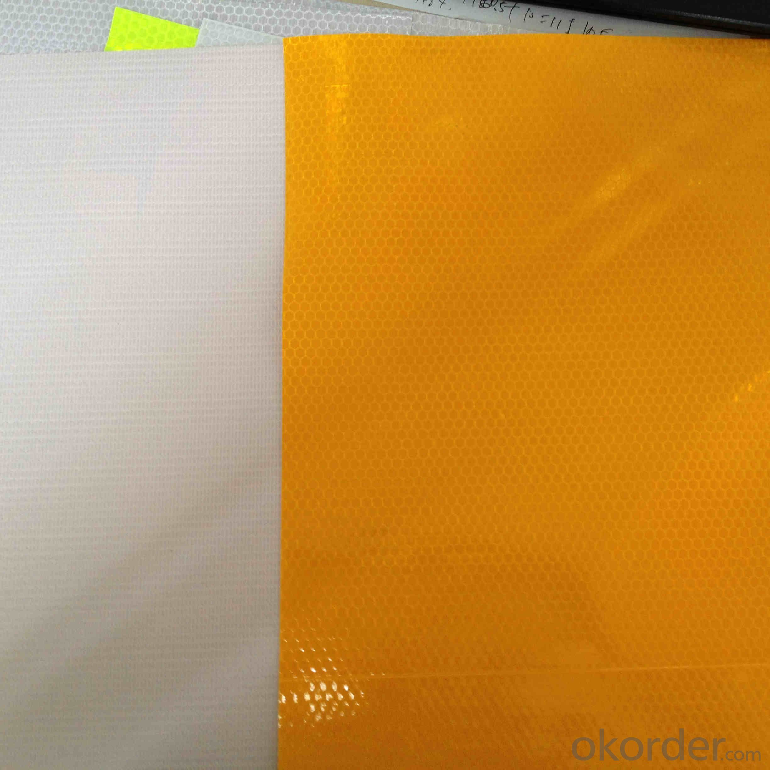 PVC Honeycomb Reflective Vinyl PVC Flex Reflective Sticker Honeycomb