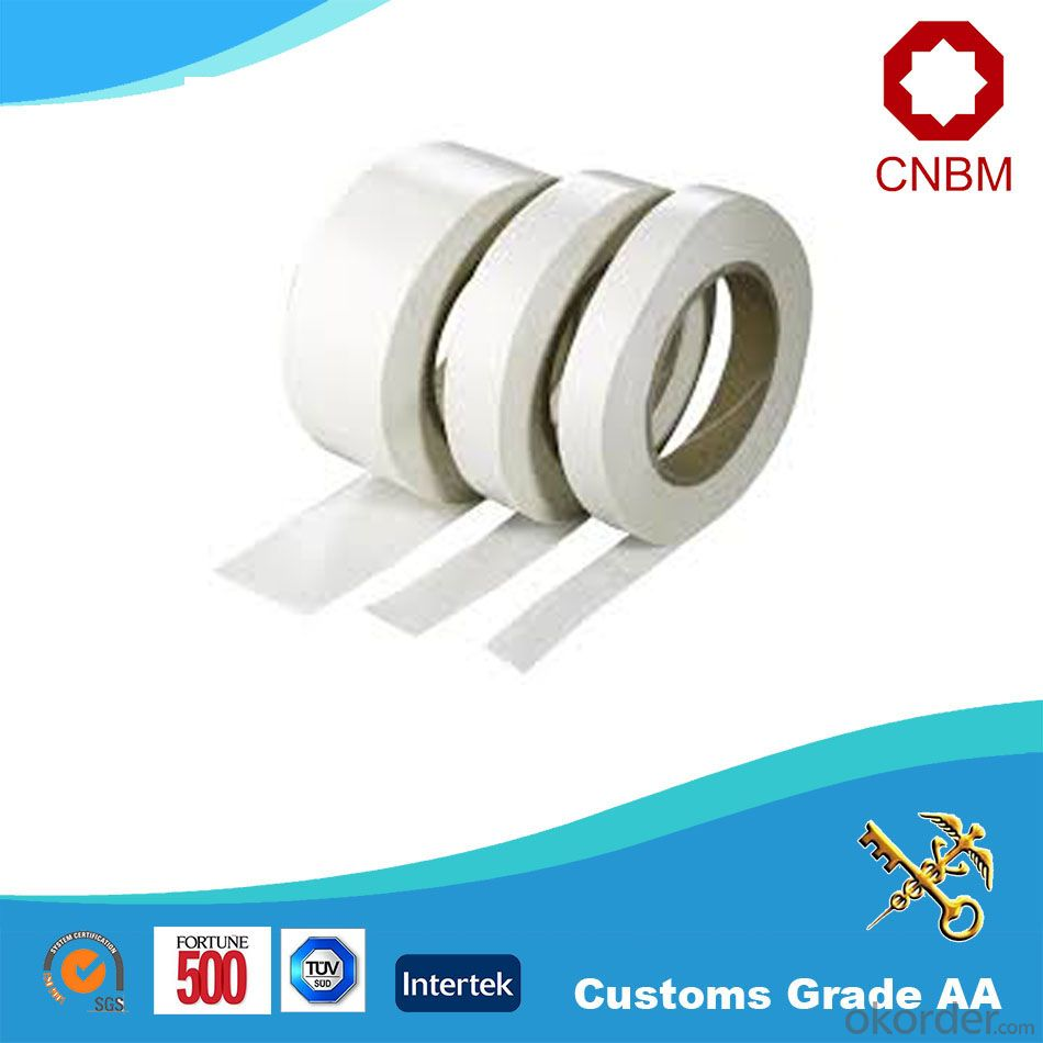 Double Sided Tissue Tape Hot Melt/Water Solvent Acrylic for Bonding