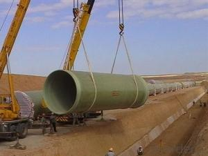 FRP Pipe Fiberglass Reinforced Plastic Pipe  Water Transportation