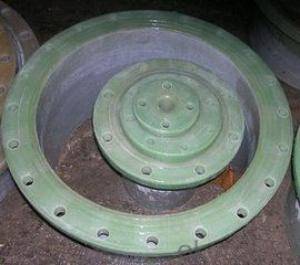 GRP FRP Flange Adaptor Sea Water Pipe Series DN 350