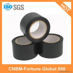 Black PVC Electrical Tape Flame Resistance for Wires Wrapping