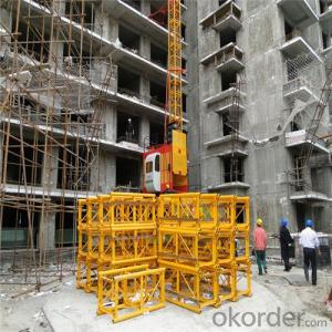 Building Hoist Single Cage 3000kg for Sale