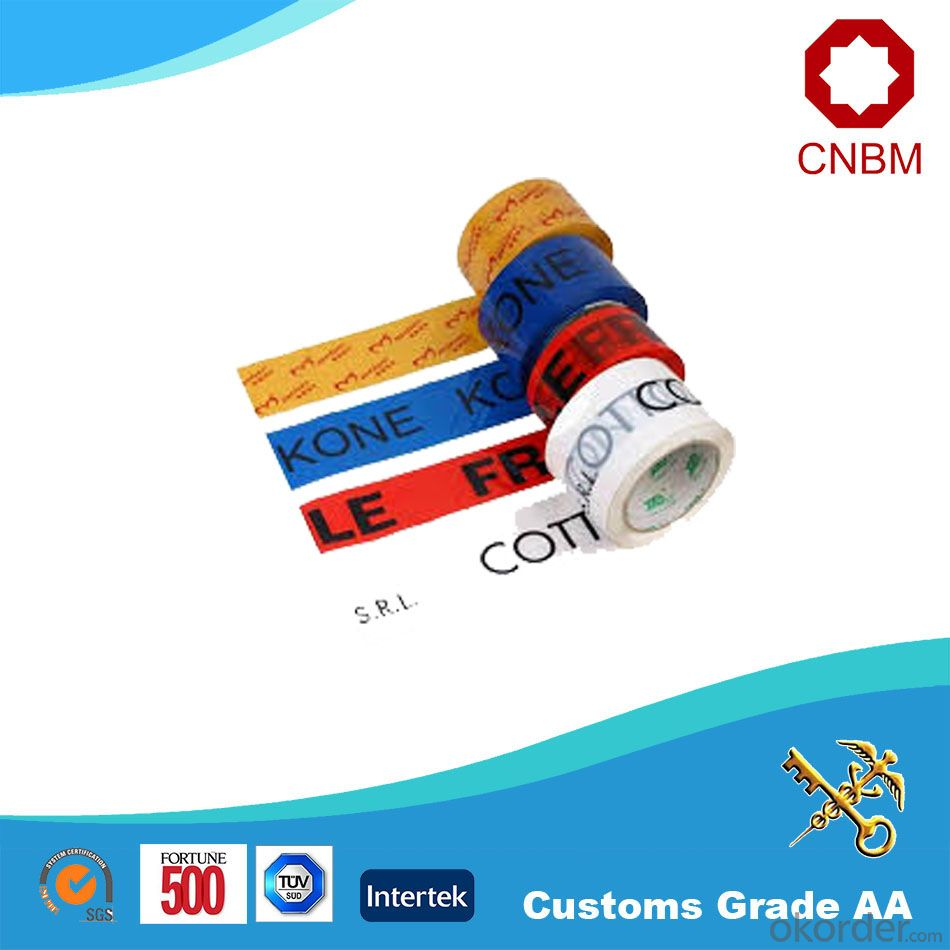 Bopp Tape Width 48mm, 50mm and 1.28m 40-60 Micron Good Tensile Strength