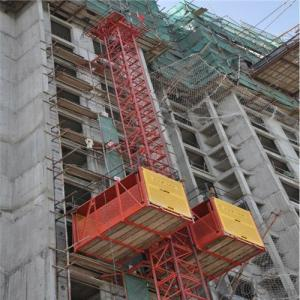 Double Building Hoist SC100/100 Chinese Factory