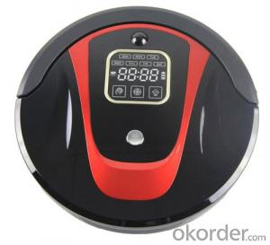 Robot Vacuum Cleaner with LED Indicator and Remote Control CNRB450